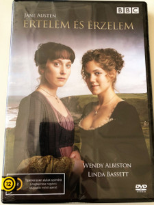 Értelem és Érzelem DVD 2008 BBC TV series Sense and Sensibility / Jane Austen / ENGLISH and HUNGARIAN Audio and Subtitles [European DVD Region 2 PAL] Directed by John Alexander /  Starring: Hattie Morahan, Charity Wakefield