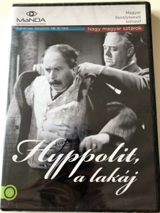 HYPPOLIT, A LAKÁJ DVD 1931 / Hyppolit, the Butler / Audio: Hungarian / Subtitle: English / Director: István Székely (5999884681502)