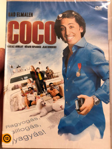 Coco DVD 2009 Region 2 PAL / Directed by Gad Elmaleh / Actors: Gad Elmaleh, Pascale Arbillot, Jean Benguigui, Manu Payet, Ary Abittan