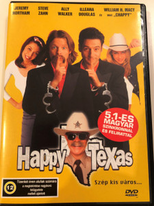 Happy, Texas DVD 1999 / Directed by Mark Illsley / Starring: Steve Zahn, Jeremy Northam, William H. Macy