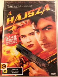 The Chase DVD 1994 A Hajsza / Directed by Adam Rifkin / Starring: Charlie Sheen, Kristy Swanson, Henry Rollins, Josh Mostel, Ray Wise
