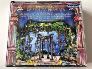 La fedeltà premiata - Franz Joseph Haydn CD / HCD11854-56 Hungaroton / Fidelity Rewarded - 1780 Hob XXVIII:10 / Pastorale in 3 Acts / Libretto by Gianbattista Lorenzi / Hungaroton