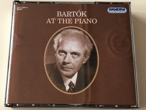 Bartók at the Piano CD / Béla Bartók Piano Programme Notes in English / CDs: 6 / Tracks: 84 / Length: 6:24:13 / HCD12326-31 Hungaroton