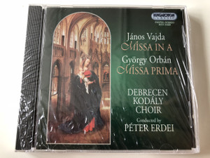 Debrecen Kodaly Choir CD / HCD 31929 / Hungaroton Classic / Conducted by: Peter Erdei / Sung in Latin (5991813192929)