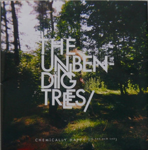 The Unbending Trees - Chemically Happy (Is The New Sad) CD Kristof Hajos / 2008 SLO-core pop,  Acoustic, Piano Blues, Downtempo