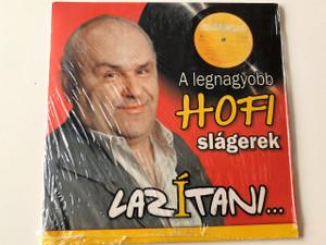 A legnagyobb HOFI slagerek LAZITANI CD / Compilation, Cardboard Sleeve / Hofi Géza, Koós János, Kovács Kati / Hungarian Comedy HCD71276