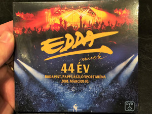 Edda Művek - 44 év - Koncert / Budapest, Papp László Sportaréna 2018. március 10. 20:00 - DVD + CD / Pataky Attila, Alapi István, Gömöry Zsolt, Kicska László, Hetényi Zoltán