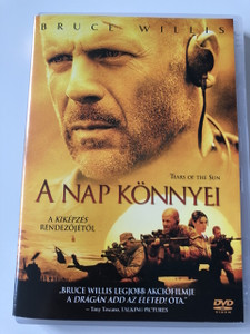 Tears of the sun (2003) A Nap Könnyei / Directed by Antoine Fuqua / Starring: Bruce Willis, Monica Bellucci, Cole Hauser, Tom Skerritt (5999048902320)