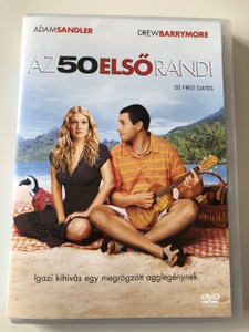 50 FIRST DATES DVD 2004 Az 50 Első Randi / Directed by Peter Segal / Starring: Adam Sandler, Drew Barrymore, Rob Schneider, Sean Astin, Blake Clark, Dan Aykroyd (5999048902931)