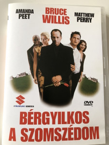 The Whole Nine Yards DVD 2000 Bérgyilkos a szomszédom / Directed by Jonathan Lynn / Starring: Bruce Willis, Matthew Perry, Rosanna Arquette, Michael Clarke Duncan, Natasha Henstridge, Amanda Peet, Kevin Pollak (5999881066418)
