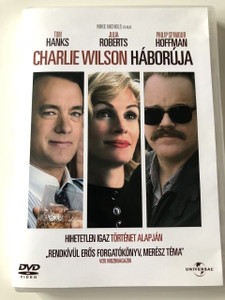 Charlie Wilson's War DVD 2007 Charlie Wilson háborúja / Directed by Mike Nichols / Starring: Tom Hanks, Julia Roberts, Philip Seymour Hoffman, Amy Adams, Emily Blunt, Ned Beatty (59996051050031)