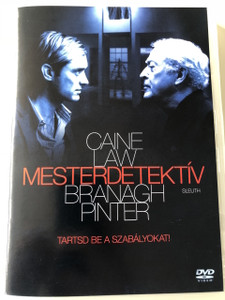 Sleuth DVD 2007 Mesterdetektív / Directed by Kenneth Branagh / Starring: Michael Caine, Jude Law (5999048920331)