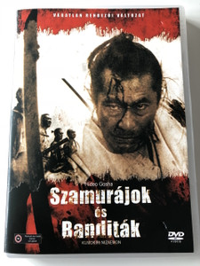 Bandits vs. Samurai Squadron DVD 1978 Szamurájok és banditák / Directed by Hideo Gosha / Starring: Tatsuya Nakadai, Junko Miyashita / Japanese Action Movie in Hungarian (5996051439461)