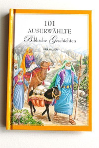 German 101 Favorite Stories From the Bible / German Children's Bible