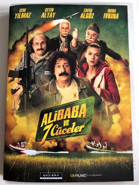 Ali Baba ve 7 Cüceler DVD 2015 Ali Baba and the Seven Dwarfs / Direct by Cem Yılmaz / Actors: Cem Yılmaz, Çetin Altay, Cem Yılmaz, Zafer Algöz (8698907304011)