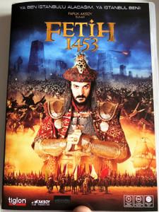 Fetih 1453 DVD 2012 Conquest 1453 / Directed by Faruk Aksoy / Starring: Devrim Evin, İbrahim Çelikkol, Dilek Serbest (8697333613278)