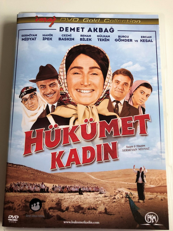 Hükümet Kadın DVD 2013 Government Woman / Directed by Sermiyan Midyat / Starring: Demet Akbağ, Sermiyan Midyat (8697428130376)