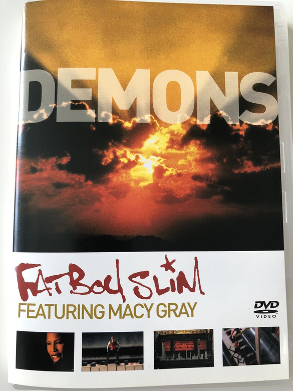 Fatboy Slim Featuring Macy Gray ‎– Demons DVD 2001 / From the album Halfway Between the Gutter and the Stars / Directed by Garth Jennings (5099720130598)
