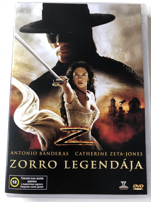 The Legend of Zorro DVD 2005 Zorro legendája / Directed by Martin Campbell / Starring: Antonio Banderas, Catherine Zeta-Jones, Rufus Sewell (5996051436286)