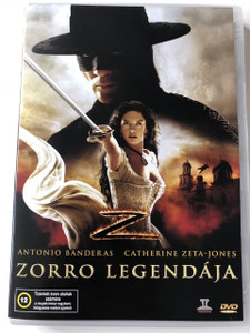 The Legend of Zorro DVD 2005 Zorro legendája / Directed by Martin Campbell / Starring: Antonio Banderas, Catherine Zeta-Jones, Rufus Sewell (5996051436286)
