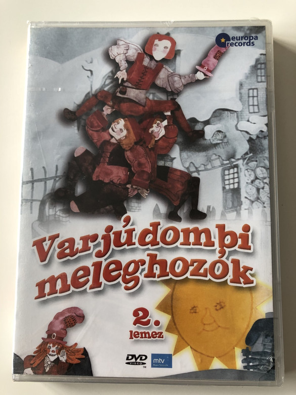 Varjúdombi meleghozók 2. lemez DVD Video 2008 Colorful Hungarian Cartoon (5999883108857)