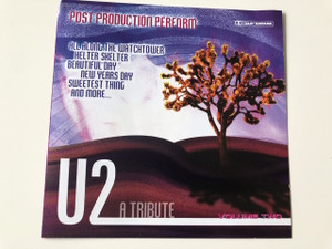U2 A Tribute / Post Production Perform / Audio CD / Members: Bono The Edge, Adam Clayton, Larry Mullen Jr. (5055015891223)