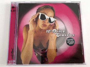 "12"" Disco Classics Audio 2 CD 1998 / Features Full 12"" or album mixes / Various Artists (5023224229120)"
