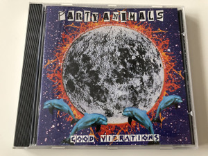 Party Animals - Good Vibrations / Audio CD 1996 / Producer: Jeff Porter, Jeroen Flamman, Abraxas Radiomix / Electronic Music / Designed by Inge Bekkers and Ton Verhees