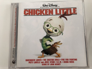 Chicken Little An Original Walt Disney Records Soundtrack / Audio CD 2005 / WALT DISNEY PICTURES PRESENTS / Csodacsibe / Produced by Mark Hammond / Music by John Debney