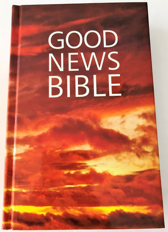 Good News Bible / 2017 / GNB / The UK's bestselling Bible translation / Hardcover / Global Version, orange (9780564093847)