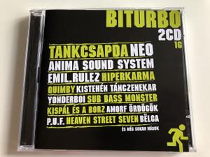 Biturbó 2 CD Válogatás - Hungarian Artists / Audio CD 2006 / Tankcsapda, Neo, Anima System, Emil Rulez, Hiperkarma, Quimby, Kistehén tánczenekar, Yonderboi és még sok mások.. (5999880904155)