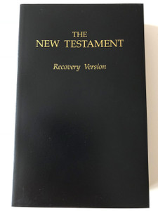 The New Testament / Recovery Version / Living Stream Ministry / With Charts, Maps and Study Notes / Paperback, 1991 / Black (157593907X)