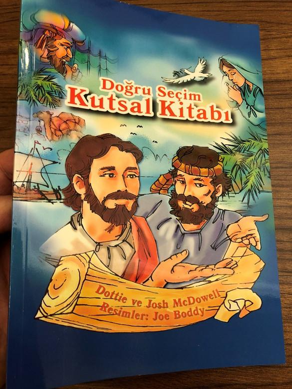 Doğru Seçim Kutsal Kitabı / The Right Choices Bible in Turkish language / Dottie & Josh McDowell / GDK / Paperback, 2017 (9786054684533)