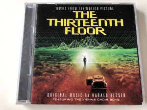The Thirteenth Floor (Music From The Motion Picture) Audio CD 1999 / Music by Harald Kloser / Featuring The Vienna Choir Boys 
