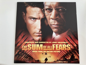 The Sum Of All Fears [Music From The Motion Picture] Various Artists / Audio CD 2002 / Yolanda Adams, Shana Blake Hill, Jerry Goldsmith, Tabitha Fair, Bruce Sledge (075596278621)