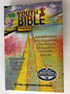 "Global Youth Bible / Contemporary English Version / Hardcover ""Road"" cover / US English Spelling / CEV033 / Bible Societies 2018 (9780564098354)"