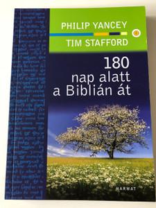 180 nap a Biblián át / NIV Student Bible in Hungarian language / Philip Yancey, Tim Stafford / Harmat kiadó / Paperback / 2nd print, 2018 (9789632881102)
