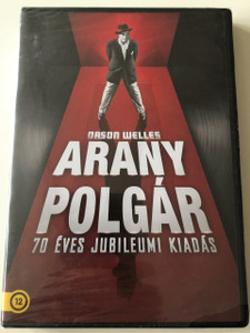 Aranypolgár / Citizen Kane / DVD 2011 / Hungarian 70th Anniversary Ultimate Collector's Edition / Directed by Orson Welles / Starring: Orson Welles Joseph Cotten, Dorothy Comingore, Everett Sloane, Ray Collins / With Extras