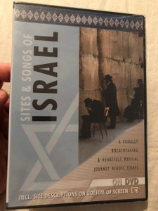 Sites & Songs of Israel / DVD 2004 / Visually breathtaking & Heartfelt Musical Journey Across Israel (4011222300522) ISBN 3865620450