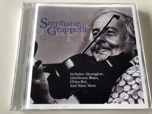 STEPHANE GRAPPELLI / Includes: Moonglow, Limehouse Blues, China Boy, and Many More / AUDIO CD 2002 / One of the greatest violin jazz Bebop players (5033606029620)