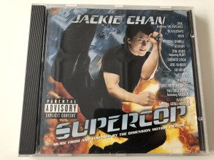 Supercop - Music From And Inspired By The Dimension Motion Picture / Jackie Chan / Audio CD 1996 / Executive Producer: Ray Santamaria / Tom Jones: Kung Fu Fighting, Siobhan Lynch: Stayin' Alive (606949008826)