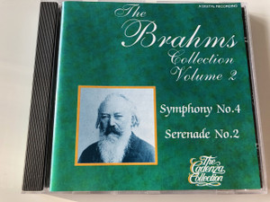 BRAHMS - THE BRAHMS COLLECTION VOLUME 2 - CLASSICAL - The Cadenza Collection / Symphony No.4, Serenade No.2 / ALBUM CD 1990 / MASTERPLACE / A Digital Recording / (5017426422335)