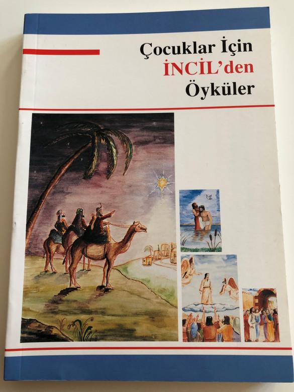 Çocuklar İçin İncil'den Öyküler / Turkish language Bible Stories for Children / Children's Bible / Kitabi Mukaddes Sirketi 1999 / 2nd edition Paperback (9757061263)
