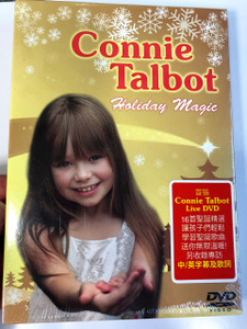 Holiday Magic / Live DVD 2009 / Starring Connie Talbot / Directed by Ben Payavis II and Neil Prisco / Hong Kong version / 小康妮 (4897012121924)