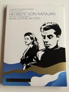Ludwig van Beethoven / Violin Concerto Op 61 / DVD 2007 / Herbert Von Karajan & Anne-Sophie Mutter (Violin) / Berlin Philharmoniker (886972024295)
