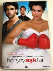 Her Şey Aşktan DVD 2016 Everything is Love / Directed by Andaç Haznedaroğlu / Starring: Hande Doğandemir, Şükrü Özyıldız, Mithat Can Özer (8698907304066)