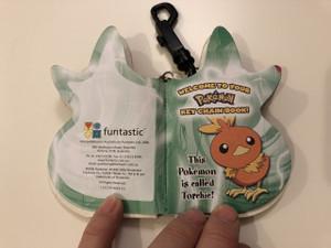 Pokémon Keychain Book / Torchie / Color pages & Mini Quiz / Funtastic 2006 (9781741673357)
