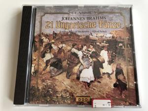 Johannes Brahms - 21 Ungarische Tänze - Hungarian Dances - Magyar táncok - Digital Recording / Classica / Audio CD 1990 / London Festival Orchestra / Alfred Scholz