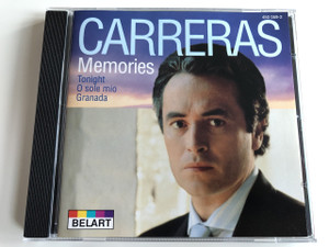 Carreras ‎– Memories / Tonight, O sole mio, Granada / José Carreras / Audio CD 1984-1979 / (028945005928)