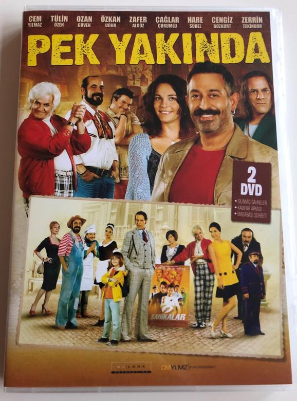 Pek Yakinda DVD 2014 Coming Soon / Directed by Cem Yılmaz / Starring: Cem Yılmaz, Tülin Özen, Ozan Güven, Özkan Uğur (8698907303359)